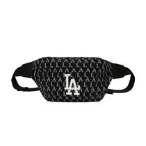 [ MLB ] Monogram Hip Sack LA Dodgers ボディバッグ (Black)