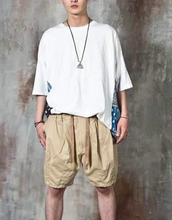 Tシャツ・カットソー 【関税・送料込】Paisley pattern over-sized ethnic t-shirts(3)