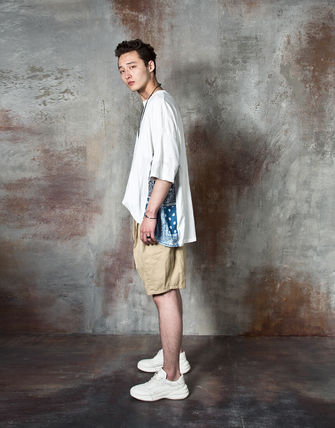 Tシャツ・カットソー 【関税・送料込】Paisley pattern over-sized ethnic t-shirts(4)