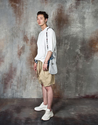 Tシャツ・カットソー 【関税・送料込】Paisley pattern over-sized ethnic t-shirts(5)