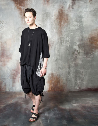Tシャツ・カットソー 【関税・送料込】Paisley pattern over-sized ethnic t-shirts(9)
