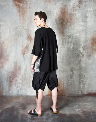 Tシャツ・カットソー 【関税・送料込】Paisley pattern over-sized ethnic t-shirts(10)
