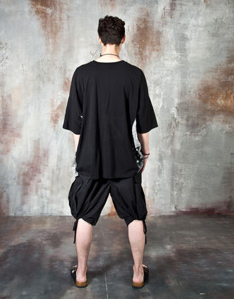 Tシャツ・カットソー 【関税・送料込】Paisley pattern over-sized ethnic t-shirts(11)