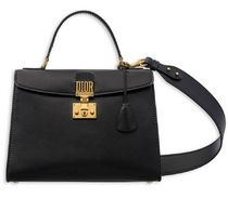 DIOR★DIORADDICT 2way bag black【関税込EMS謝恩品】
