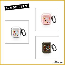 ☆Casetify☆ Air Pods リングケース Polka Daub Sweets ♪