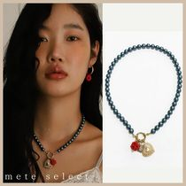 August Harmony Berry pearl necklace パールネックレス