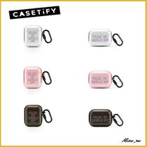 ☆Casetify☆ Air Pods  リングケース Music On World Off ♪