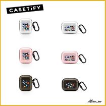 ☆Casetify☆ Air Pods  リングケース space rocket ♪