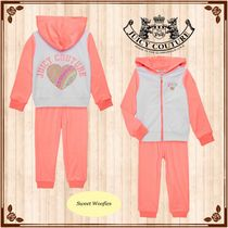 JUICY COUTURE(ジューシークチュール) キッズ用トップス ◇お買い得SALE◇★JUICY COUTURE★ツーピースアスリートセット