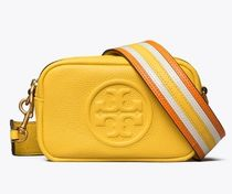 Tory Burch(トリーバーチ) ショルダーバッグ・ポシェット TORY BURCH★PERRY BOMBE PIECED-STRAP MINI BAG レザー 64398