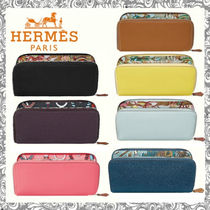 Hermes エルメス シルクイン  Silk'In Classique Long wallet