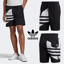 男女兼用 ☆ adidas BIG TREFOIL TRACK SHORTS ☆ XS~3XL 大人気