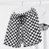 【VANS】Range 18 short in checkerboard♪
