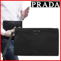 ★PRADA★Strap Pouch Clutch Bag☆正規品・安全発送☆