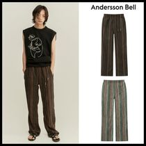 ☆ANDERSSON BELL☆ UNISEX FREMONT ETHNIC TRACK PANTS