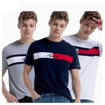 ★Tommy JEANS(トミージーンズ)★綿Tシャツ/ロゴ入り/3色/韓国