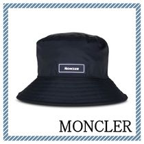 【MONCLER】関送込 ロゴ バケット ハット