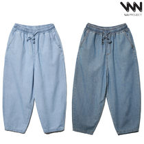 WV PROJECT★Public Banding Wide Denim Pants - CJLP7375
