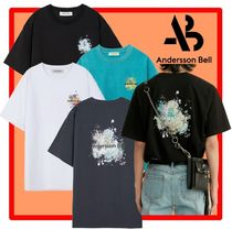 ANDERSSON BELL(アンダースンベル) Tシャツ・カットソー ★韓国の人気★ANDERSSON BELL★SPLATTER PRINT T-SHIRTS 4色★