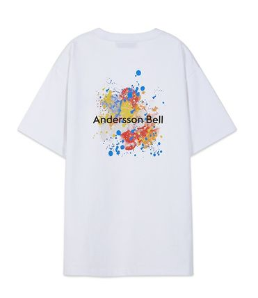ANDERSSON BELL Tシャツ・カットソー ☆韓国の人気☆ANDERSSON BELL☆SPLATTER PRINT T-SHIRTS 4色☆(6)