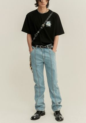 ANDERSSON BELL Tシャツ・カットソー ☆韓国の人気☆ANDERSSON BELL☆SPLATTER PRINT T-SHIRTS 4色☆(18)