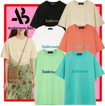 ANDERSSON BELL☆UNISEX ANDERSSON SIGNATURE EMBROIDERY TEE6色