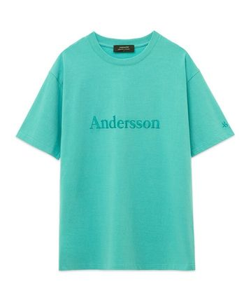 ANDERSSON BELL Tシャツ・カットソー ANDERSSON BELL☆UNISEX ANDERSSON SIGNATURE EMBROIDERY TEE6色(10)