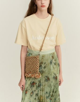 ANDERSSON BELL Tシャツ・カットソー ANDERSSON BELL☆UNISEX ANDERSSON SIGNATURE EMBROIDERY TEE6色(16)