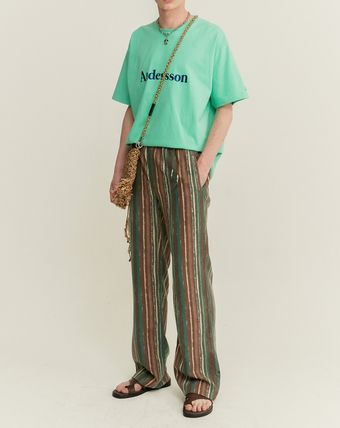 ANDERSSON BELL Tシャツ・カットソー ANDERSSON BELL☆UNISEX ANDERSSON SIGNATURE EMBROIDERY TEE6色(17)