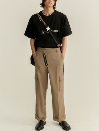 ANDERSSON BELL Tシャツ・カットソー ANDERSSON BELL☆UNISEX ANDERSSON SIGNATURE EMBROIDERY TEE6色(18)