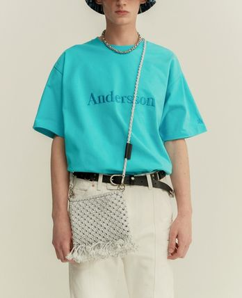 ANDERSSON BELL Tシャツ・カットソー ANDERSSON BELL☆UNISEX ANDERSSON SIGNATURE EMBROIDERY TEE6色(19)