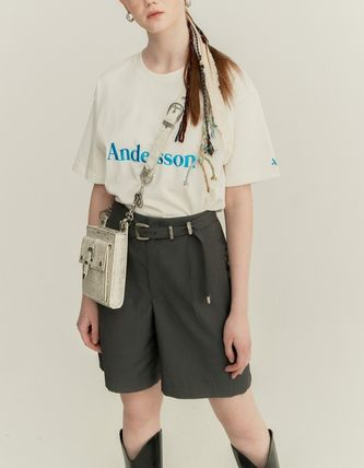 ANDERSSON BELL Tシャツ・カットソー ANDERSSON BELL☆UNISEX ANDERSSON SIGNATURE EMBROIDERY TEE6色(20)