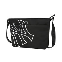 [ MLB ] Mega Logo Sacoche Cross Bag New York Yankees (Black)
