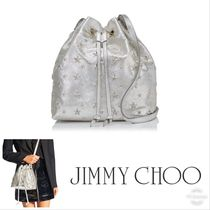 SALE!!【Jimmy Choo】JUNO/S★BUCKET ★巾着★可愛い