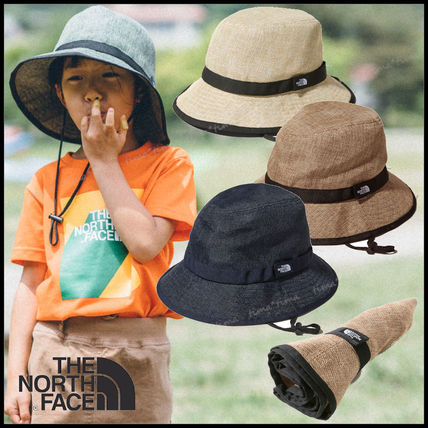 THE NORTH FACE 子供用帽子・手袋・ファッション小物 《国内発》THE NORTH FACE◆HIKE Hat 洗濯可 携帯に便利☆大人OK