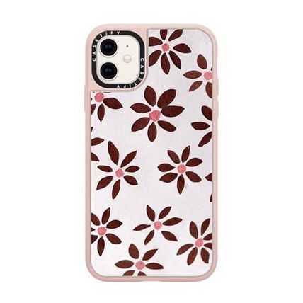 Casetify スマホケース・テックアクセサリー Casetify iphone Grip case♪LIGHT FLOWERS by IVY WEINGLASS♪(2)