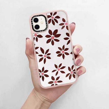 Casetify スマホケース・テックアクセサリー Casetify iphone Grip case♪LIGHT FLOWERS by IVY WEINGLASS♪(4)