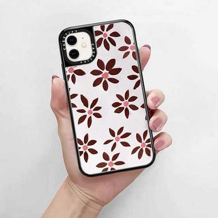 Casetify スマホケース・テックアクセサリー Casetify iphone Grip case♪LIGHT FLOWERS by IVY WEINGLASS♪(7)
