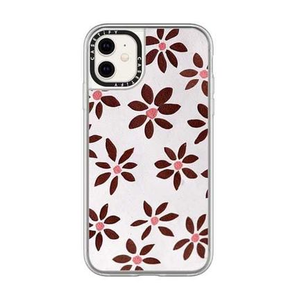 Casetify スマホケース・テックアクセサリー Casetify iphone Grip case♪LIGHT FLOWERS by IVY WEINGLASS♪(8)