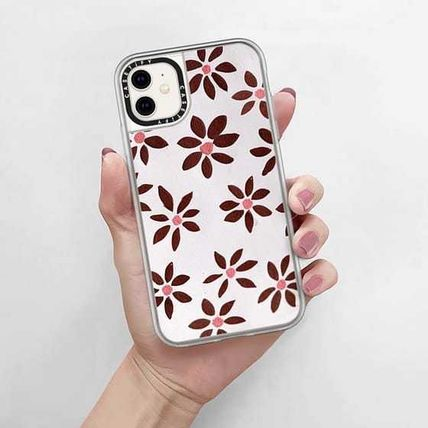 Casetify スマホケース・テックアクセサリー Casetify iphone Grip case♪LIGHT FLOWERS by IVY WEINGLASS♪(10)