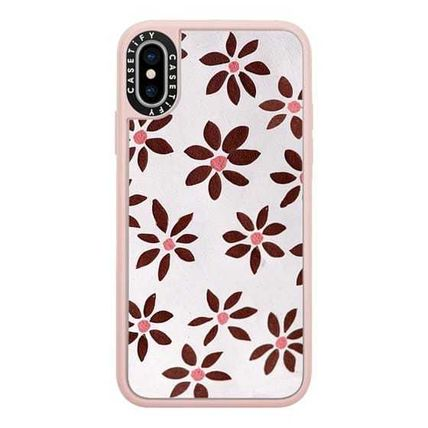 Casetify スマホケース・テックアクセサリー Casetify iphone Grip case♪LIGHT FLOWERS by IVY WEINGLASS♪(13)