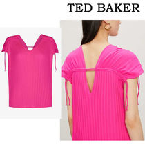 TED BAKER★Chasta tie-shoulder クレープ トップ