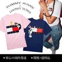 TOMMY JEANS × LOONEY TUNES 相性抜群!コラボ Tシャツ♪