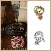 August Harmony Queen love 3set coin ring リング3セット