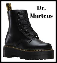 【Dr.Martens】Molly Buttero Black Leather*厚底ブーツ