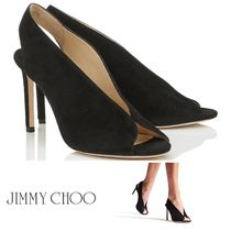 SALE!【JIMMY CHOO】SHAR 85♪スエード♪上品♪