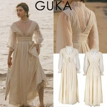GUKA★日本未入荷 キリーロングワンピース Curie long Two Piece