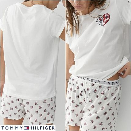 Tommy Hilfiger ルームウェア・パジャマ 国内発【Tommy Hilfiger】ルームウェア Ladies Day セットアップ
