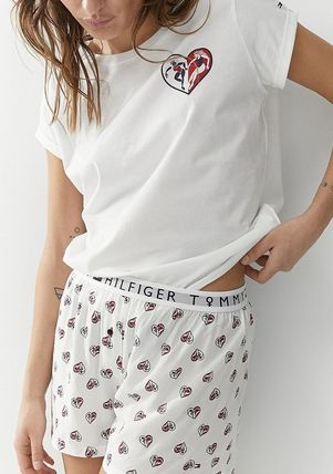 Tommy Hilfiger ルームウェア・パジャマ 国内発【Tommy Hilfiger】ルームウェア Ladies Day セットアップ(3)