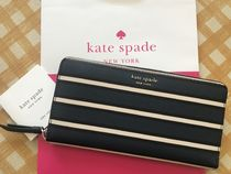 Kate Spade★Cameron York Stripe Large Continental Wallet